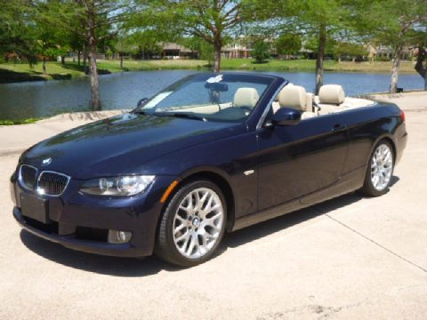 2010 BMW 3 Series 328i Convertible in Monaco Blue Metallic