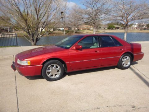 1997 Cadillac Seville STS in Red Tintcoat Metallic