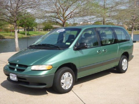 1999 Dodge Grand Caravan SE in Alpine Green Pearl