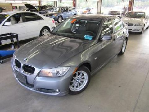 2010 BMW 3 Series 328i Sedan in Space Gray Metallic