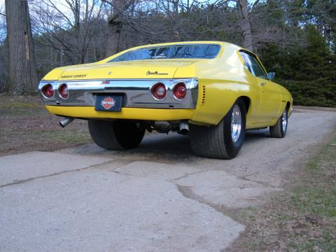 1972 Chevrolet Chevelle Heavy Chevy Pro-Street in Yellow