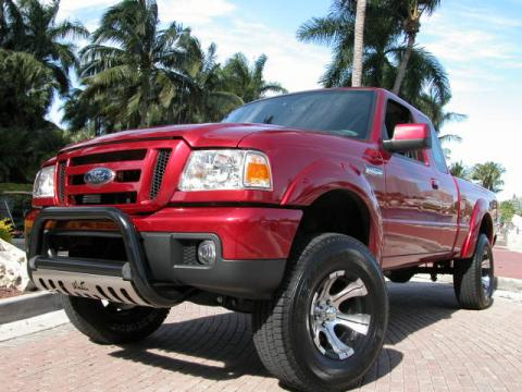 2007 Ford Ranger XLT SuperCab in Redfire Metallic