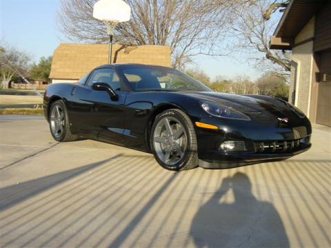 2007 Chevrolet Corvette Coupe in Black