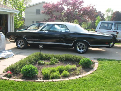 1969 Dodge Coronet 500 Convertible in Black