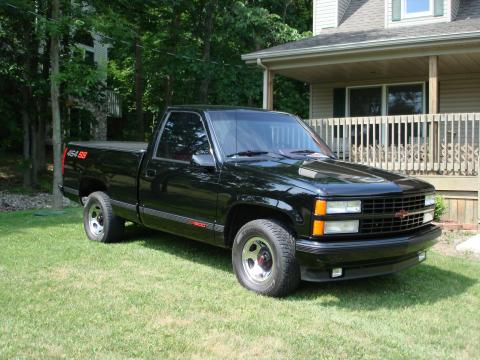 1990 Chevrolet C/K C1500 454 SS in Onyx Black