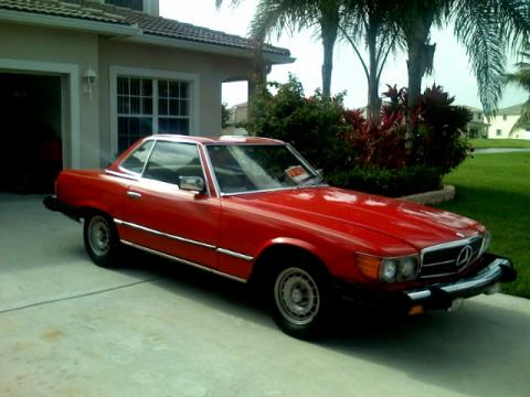1979 Mercedes-Benz SL Class 450 SL Roadster in Red