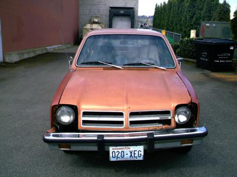 1977 Chevrolet Chevette 2 Door in Orange