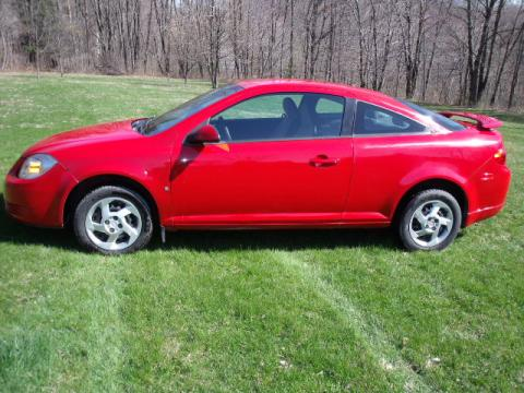 2007 Pontiac G5 GT in Victory Red
