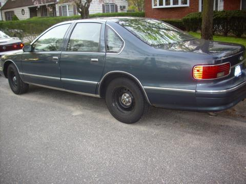 1995 Chevrolet Caprice 9C1 Police Package in Dark Green Gray Metallic