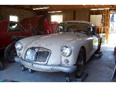 1961 MG MGA Coupe in Alamo Beige