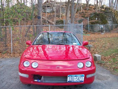 1994 Acura Integra LS Coupe in Milano Red