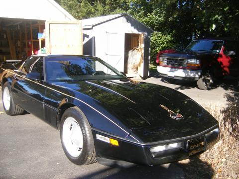 1987 Chevrolet Corvette Coupe in Black
