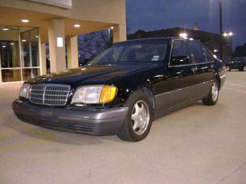 1992 Mercedes-Benz S Class S 600 in Black