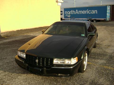 1993 Cadillac Seville STS in Dark Green Metallic