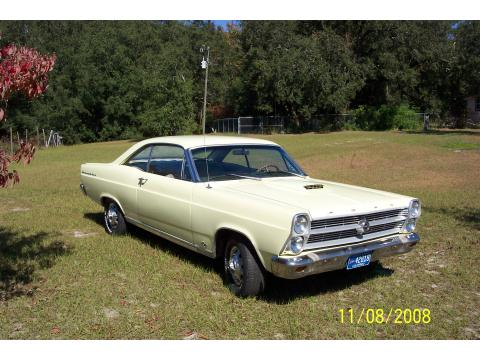 1966 Ford Fairlane 500 Hardtop Coupe in Pale Yellow