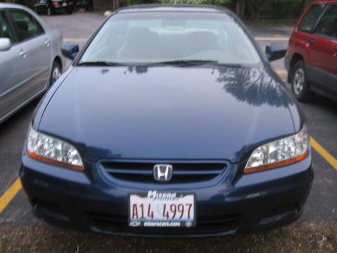 2002 Honda Accord EX Coupe in Eternal Blue Pearl