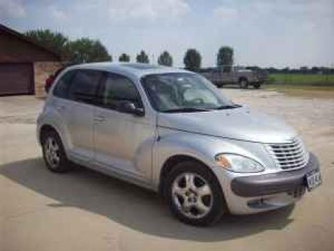 2002 Chrysler PT Cruiser Limited in Bright Silver Metallic
