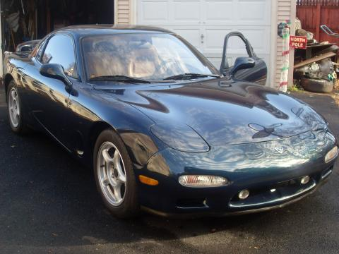 1993 Mazda RX-7 Twin Turbo in Montego Blue Mica