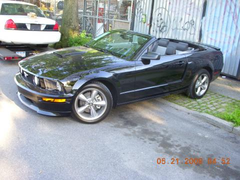 2009 Ford Mustang GT/CS California Special Convertible in Black