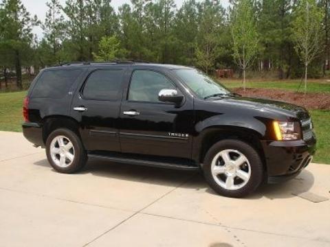 2007 Chevrolet Tahoe LTZ 4x4 in Black